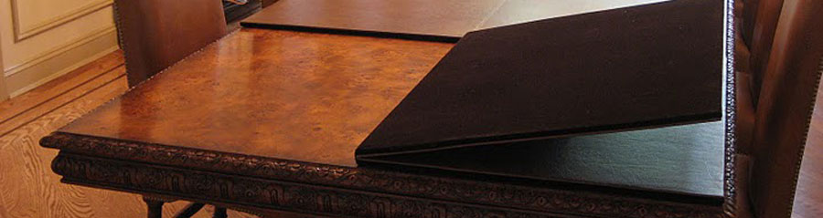 McKay Custom Table Pads To Protect Your Furniture From Scratches - Mckay custom table pads