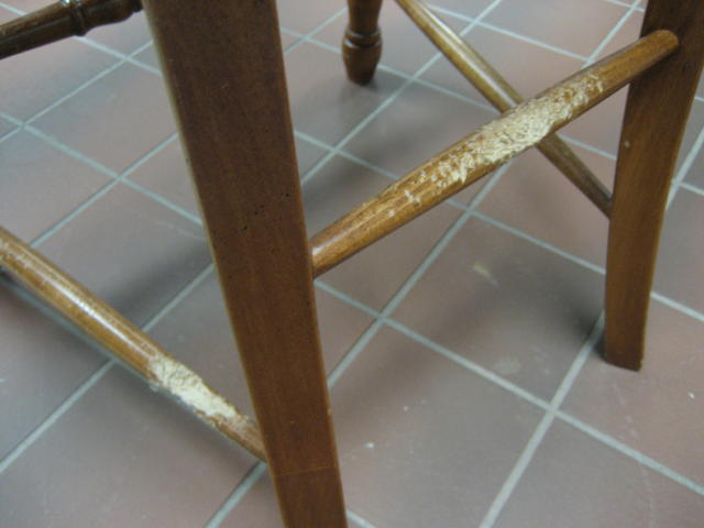Furniture Touch Up Before And After Samples